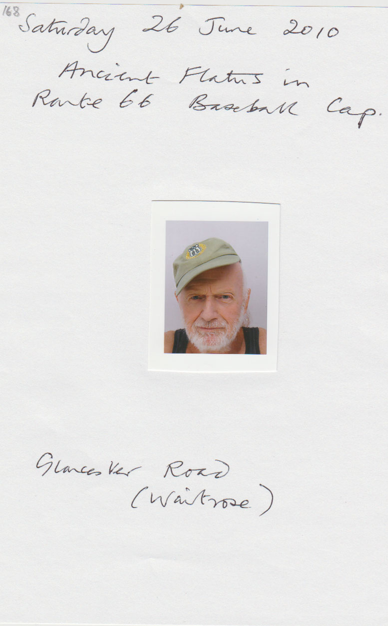 Ivor Treby passport picture in 2010