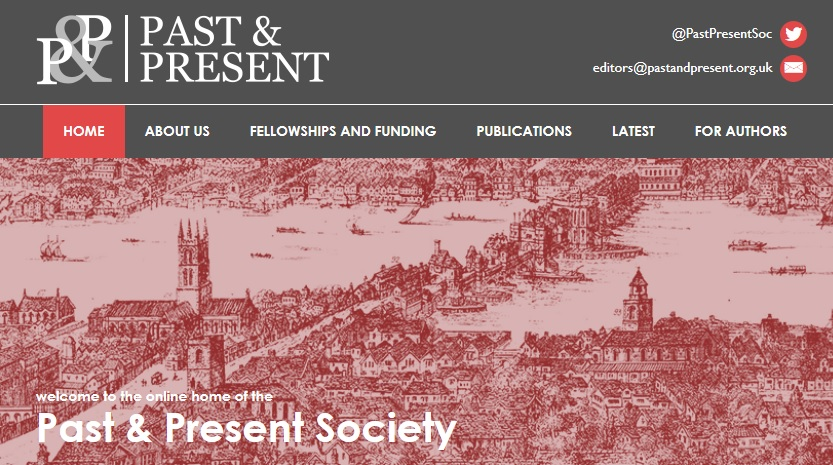 the Past & Present Society website