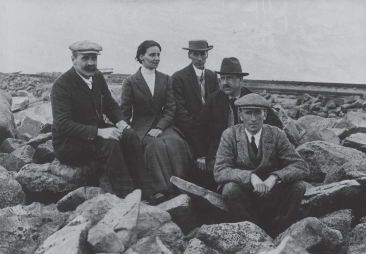 The Pike's Peak expedition 1911: Haldane, FitzGerald, Schneider, Henderson and Douglas.