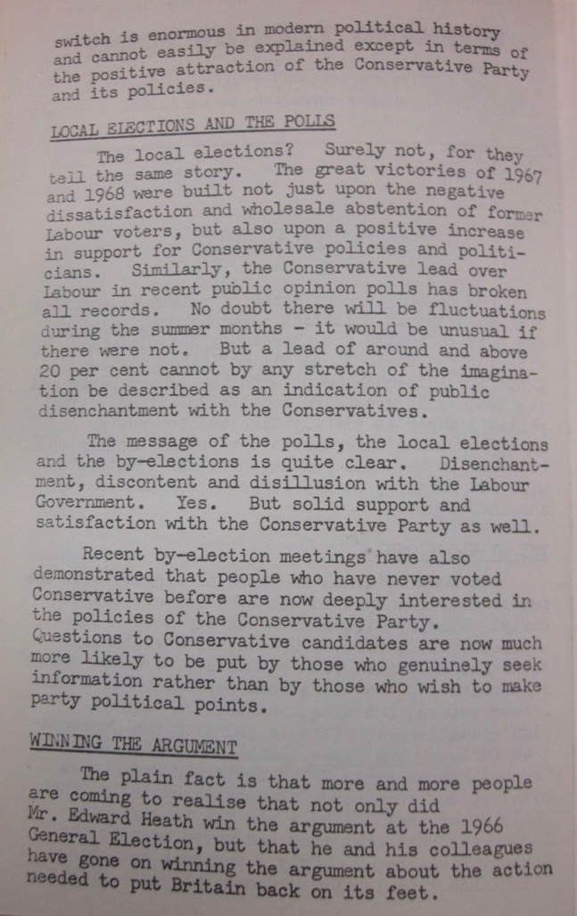Weekend Talking Point, 15 June 1968