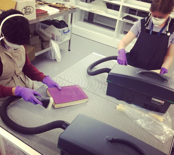 In the Weston Library Quarantine Room: Preventive conservators at work