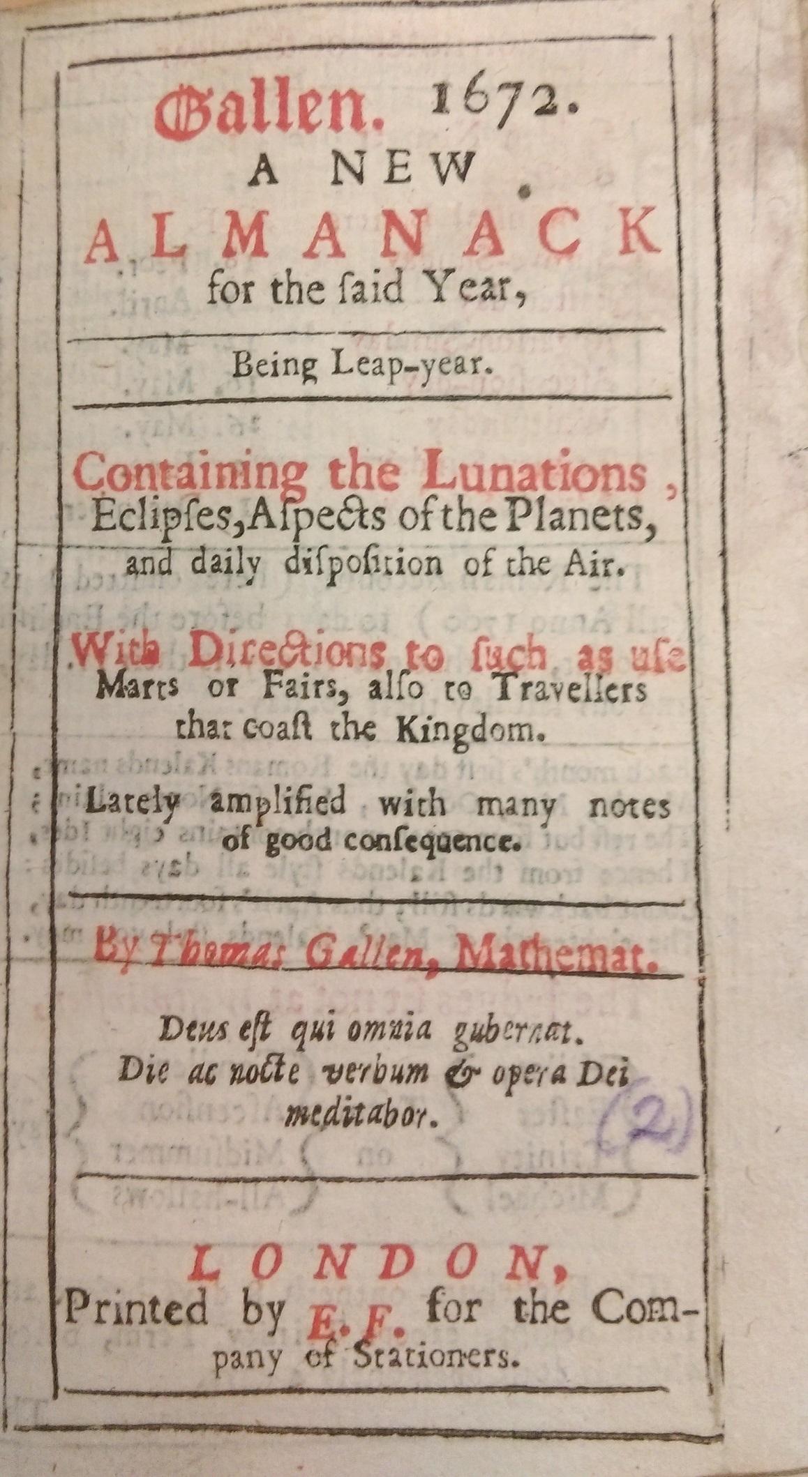 Gallen-almanack-1672