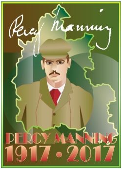 Percy Manning centenary poster
