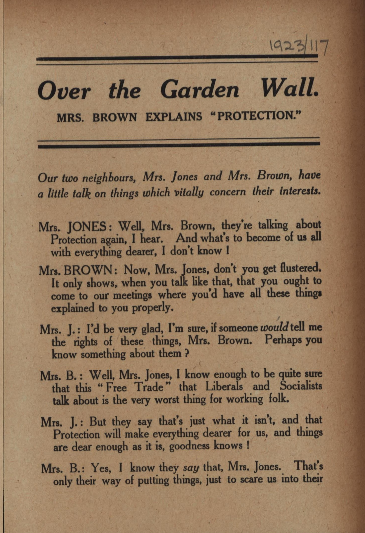 Over the Garden Wall leaflet 1