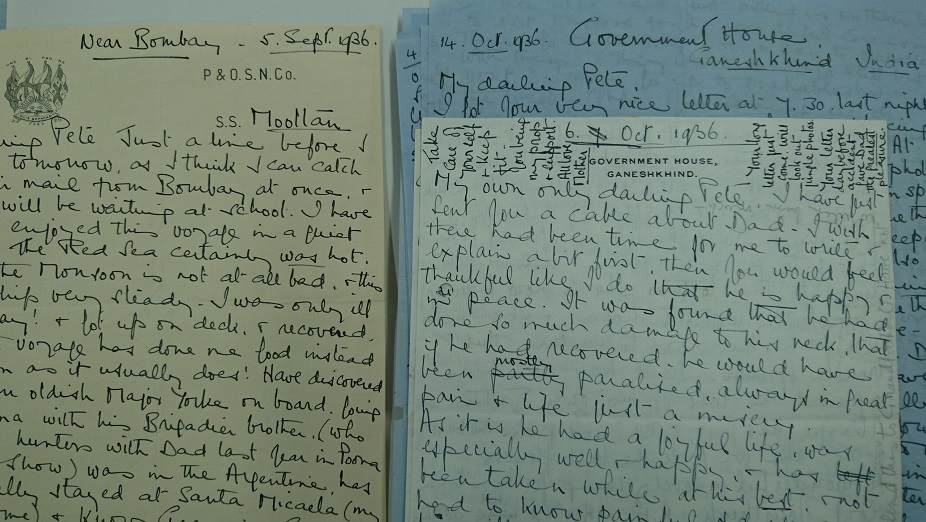 Letters Margaret Opie to Peter