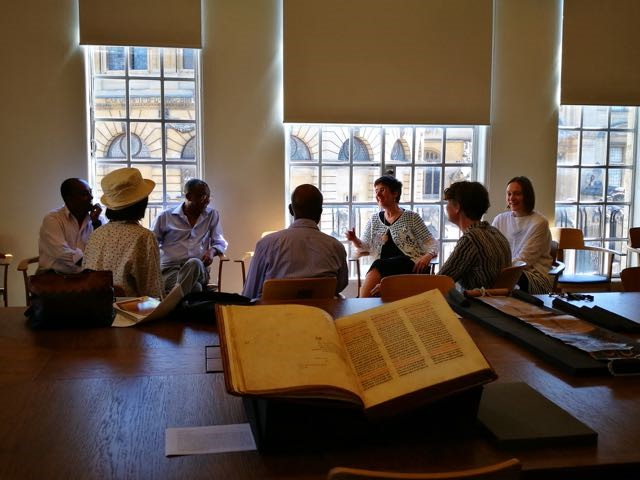 Study day of Ge'ez manuscripts of Ethiopia and Eritrea | Archives