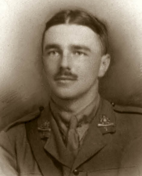 The last photograph of Wilfred Owen, Hastings, 30 Aug 1918