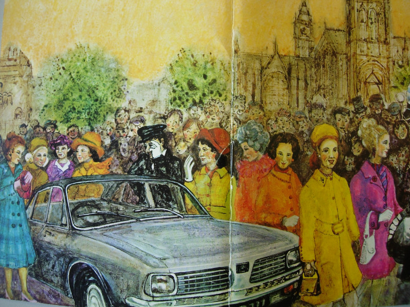 Pictured: cover illustration for the Conservative Women's Conference Handbook, 1972