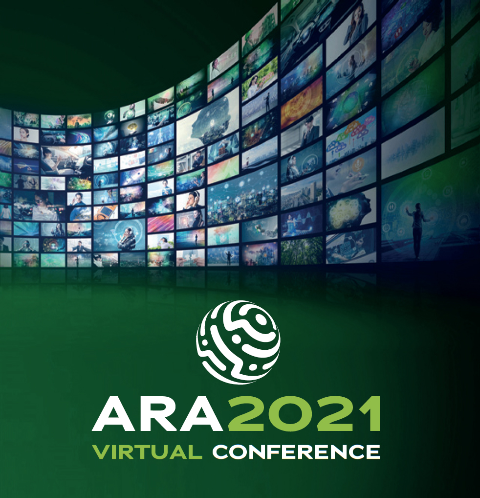 Logo for the Archive and Records Association 2021 Virtual Conference