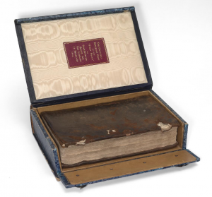 First Folio in its box
