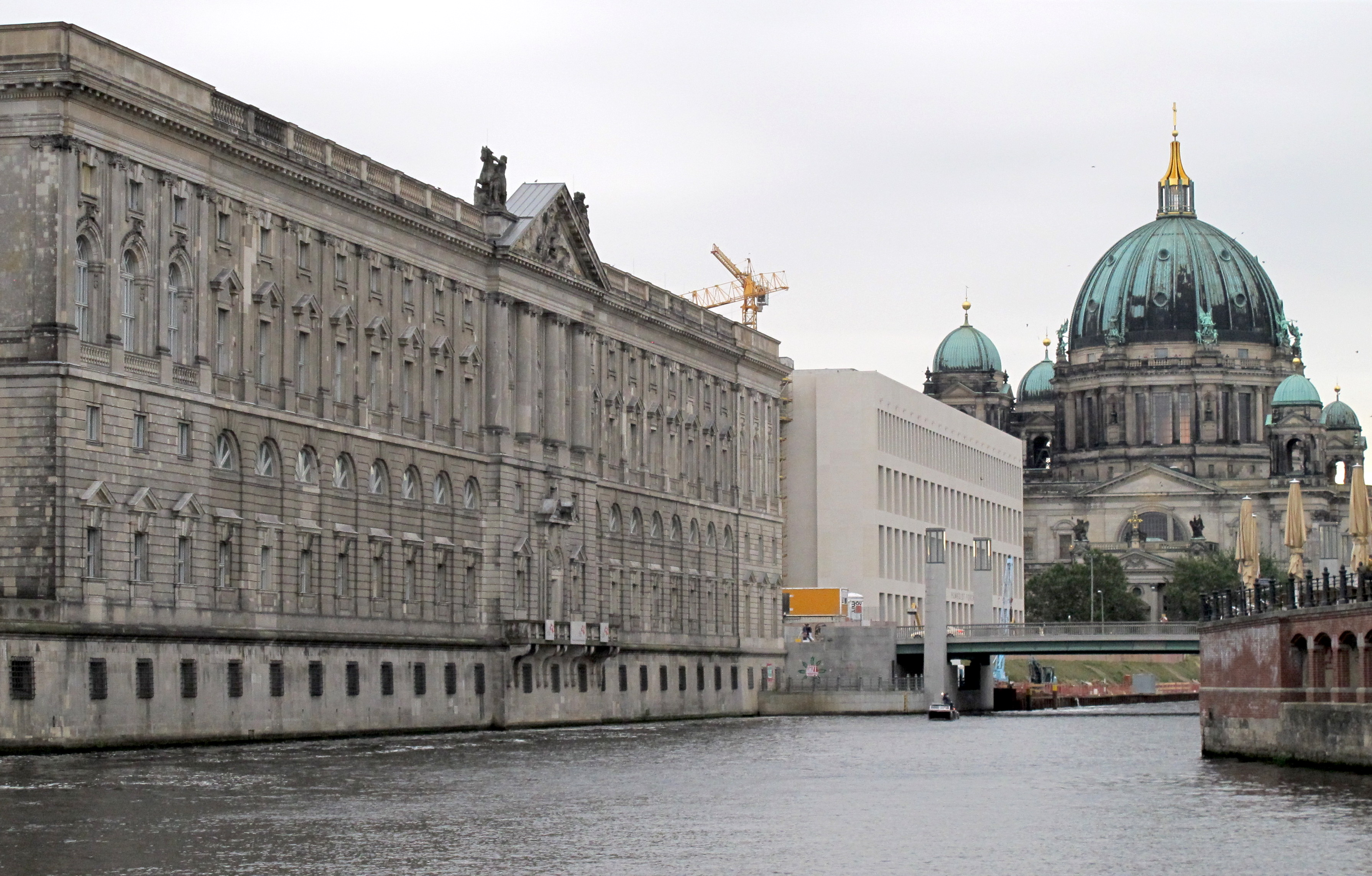 Berlin - view from the river Spree. Photo: Somaya Langley