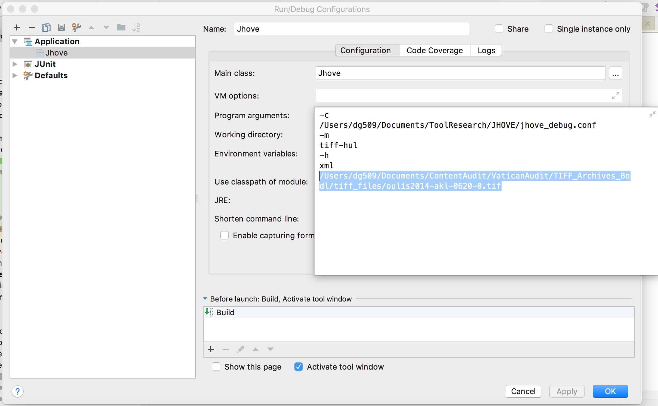 Adding a config file parameter