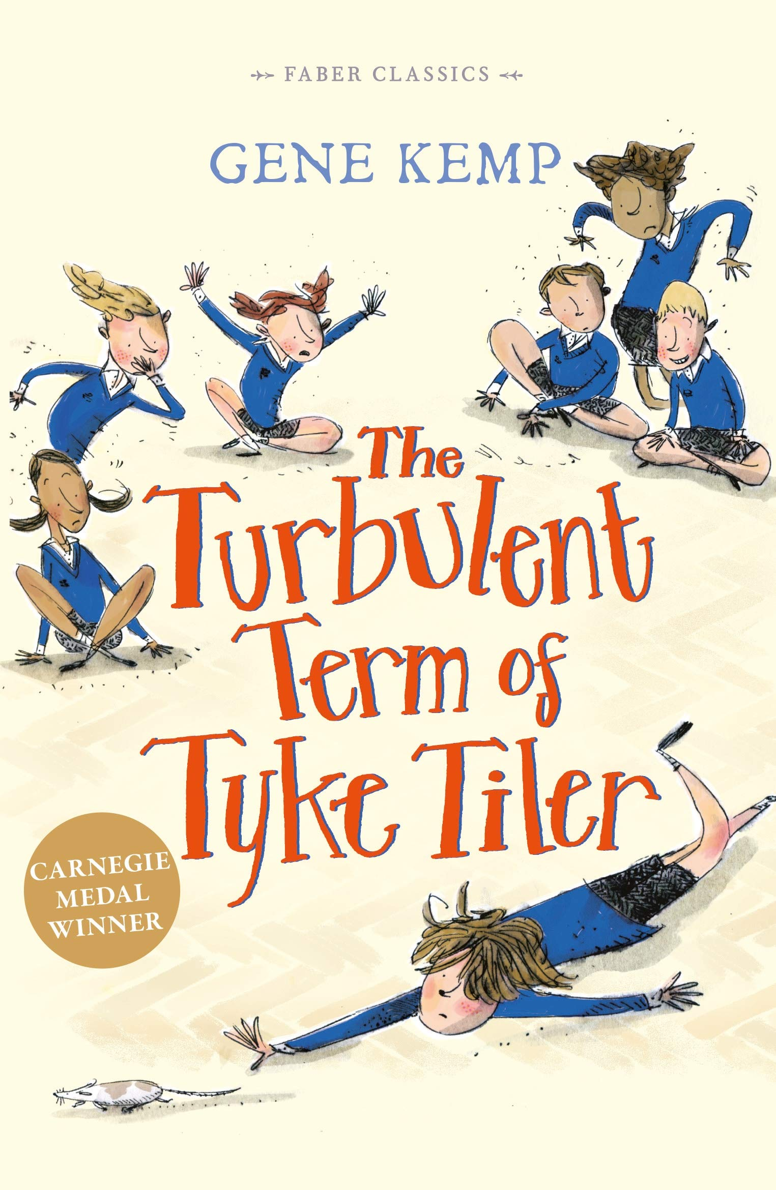 Book cover of The Turbulent Term of Tyke Tiler