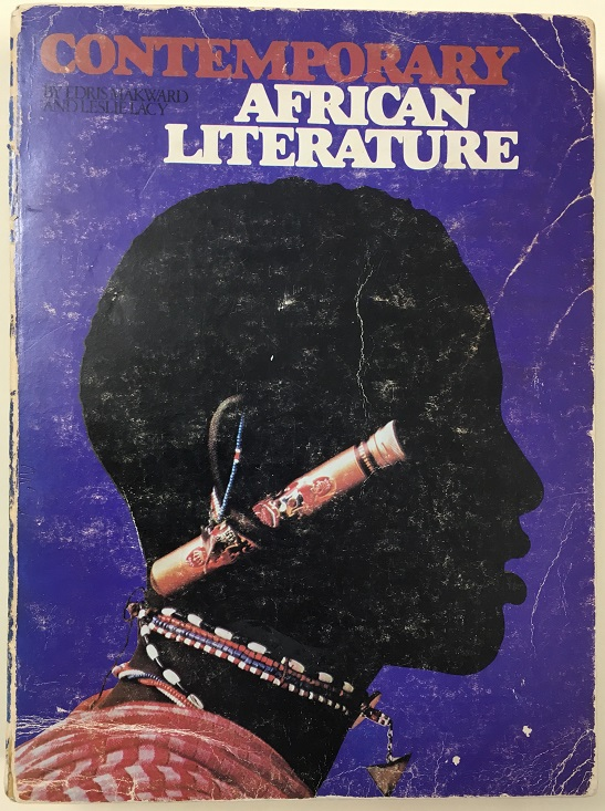Book cover - Contemporary African Literature