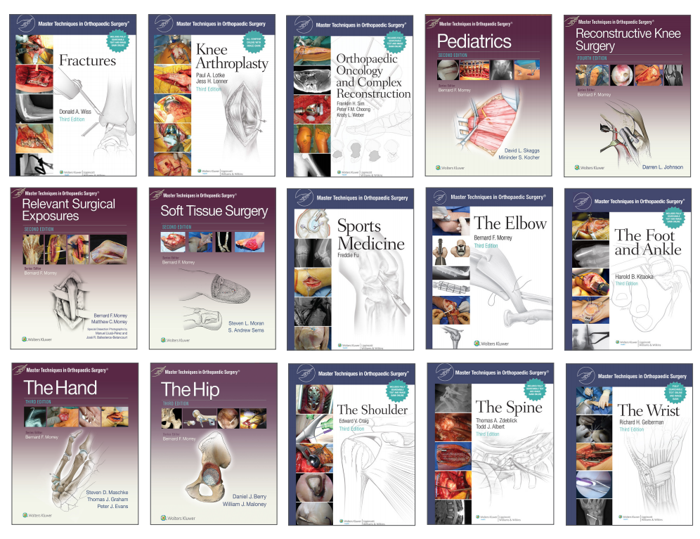 New resource – Master Techniques in Orthopaedic Surgery Book
