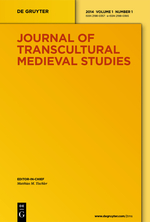 Journal of transcultural medieval studies - cover