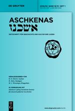 Aschkenas - cover
