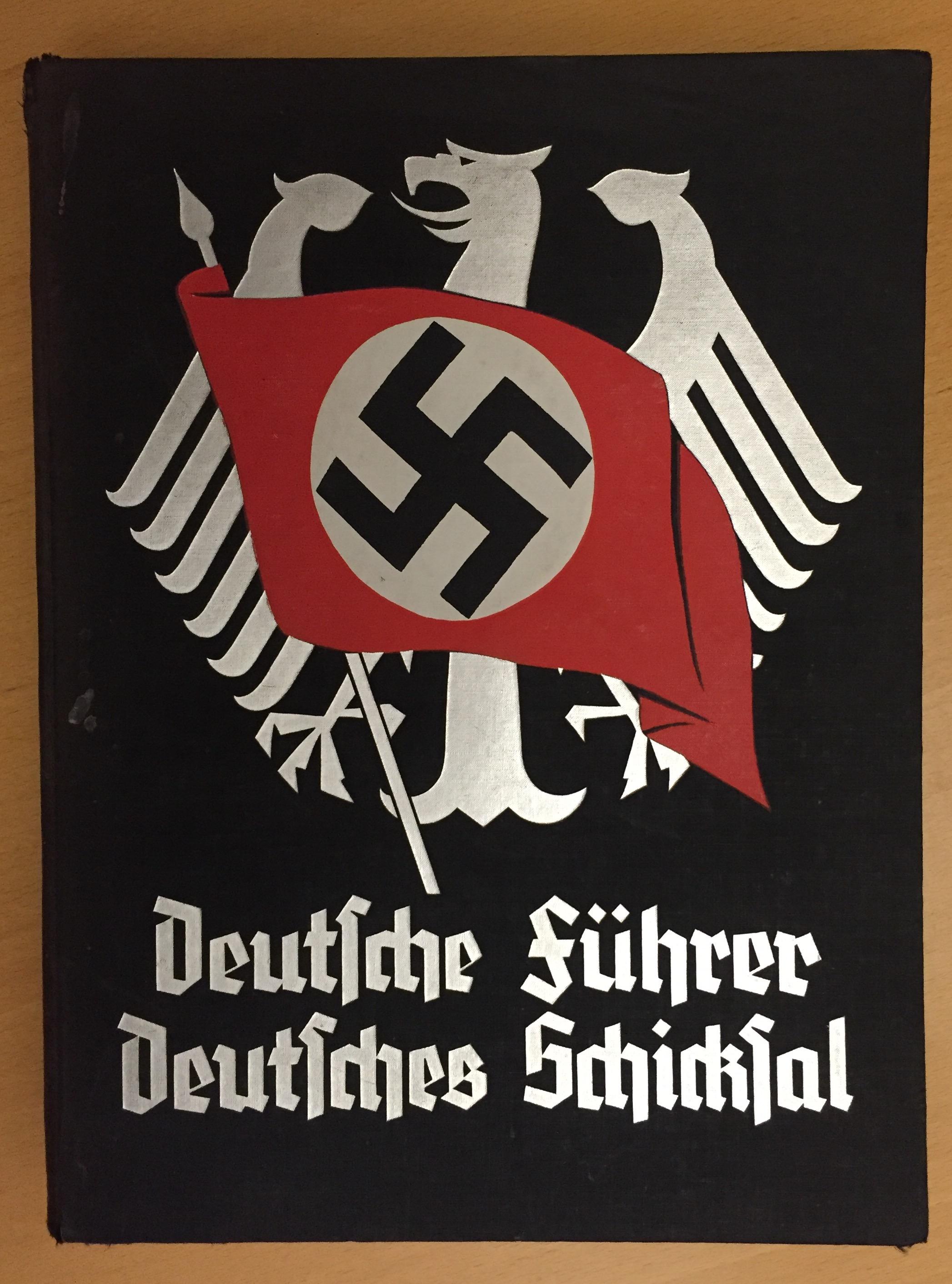 Deutscher Fuhrer Deutsches Schicksal - cover