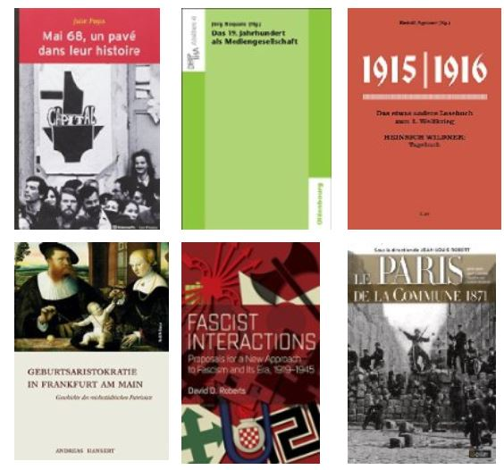 New History books 22 July 2016