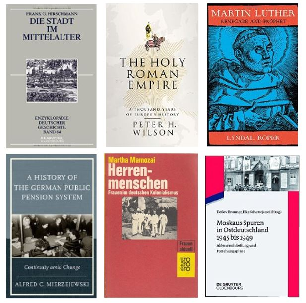 New History books 24 August 2016