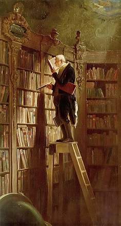 Carl Spitzweg, the Bookworm