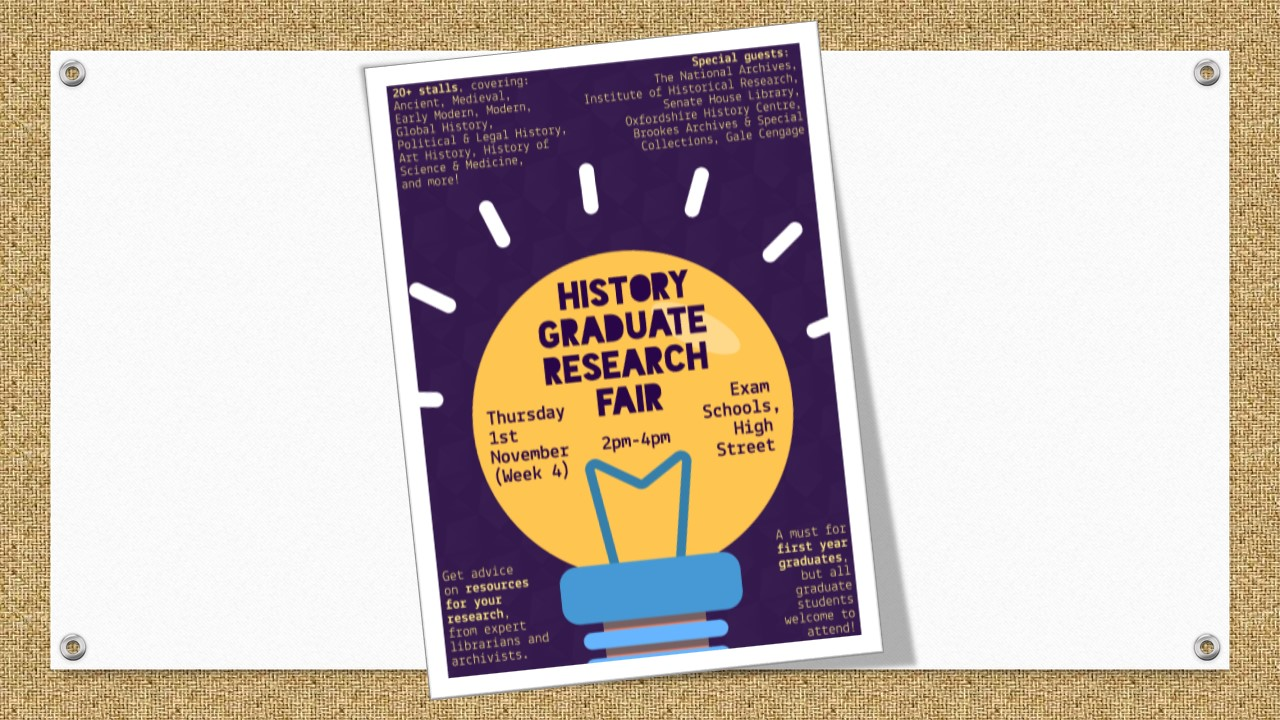 Poster for Graduate Research Fair 2018