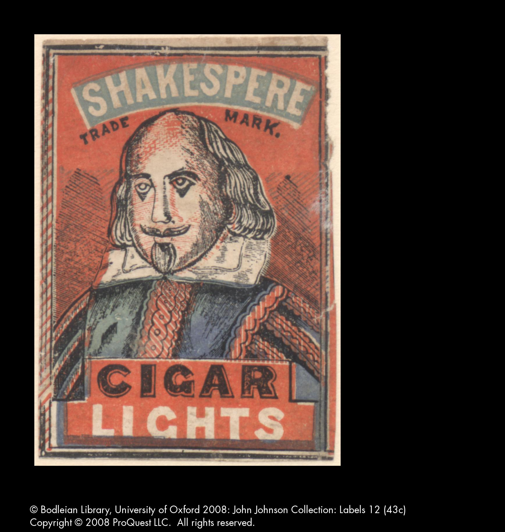 Shakespeare cigar lights