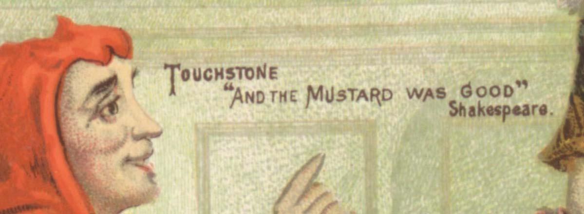Keen's mustard detail