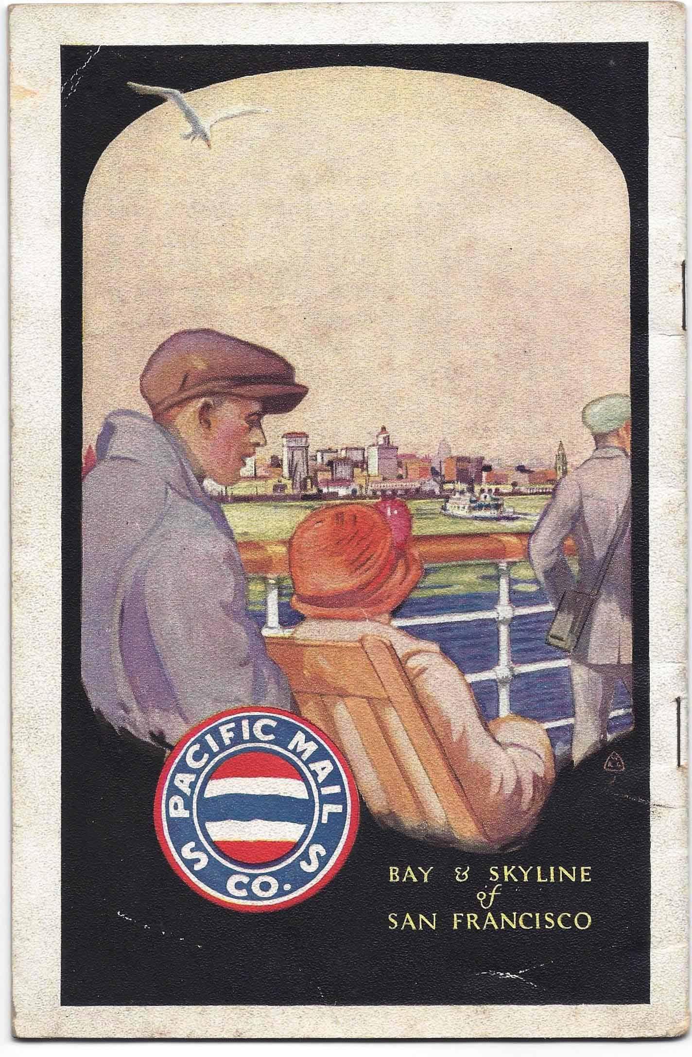 SS Manchuria Passenger List cover