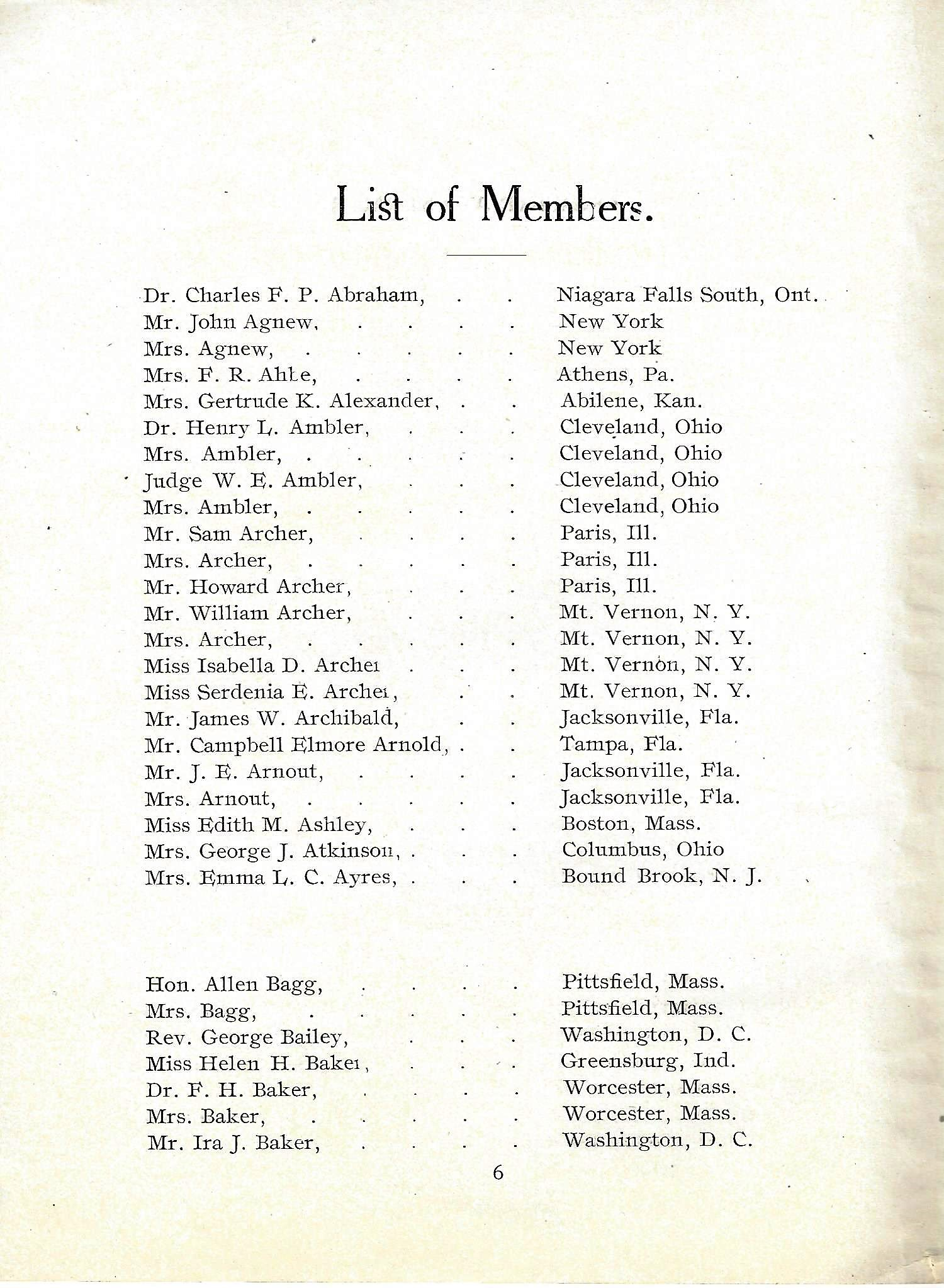RMS Arabic passenger list
