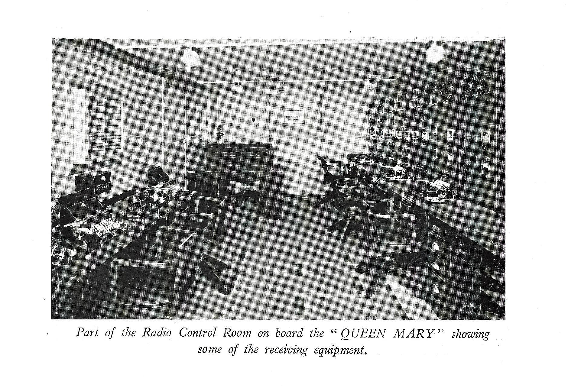 Figure 2: RMS Queen Mary Radio Room