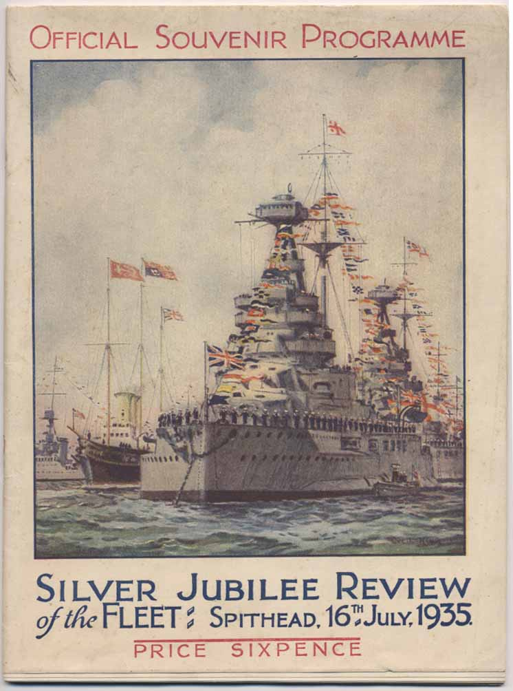 Spithead review programme 1935