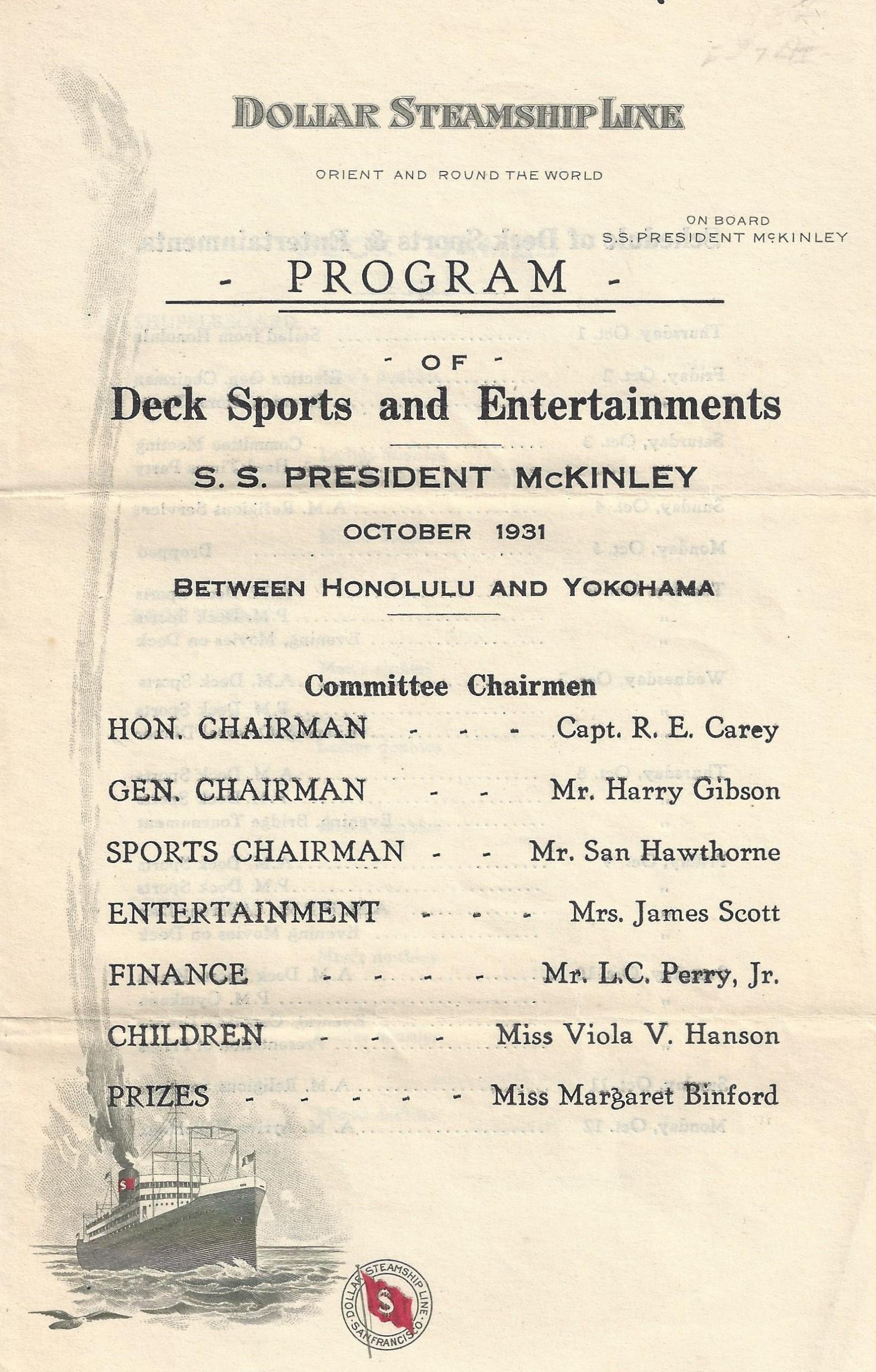 President McKinley Games
