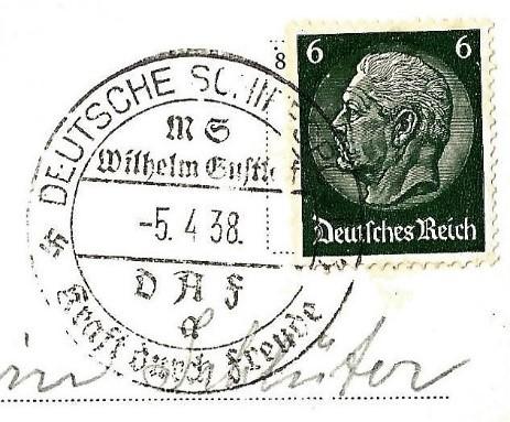 Gustloff postmark