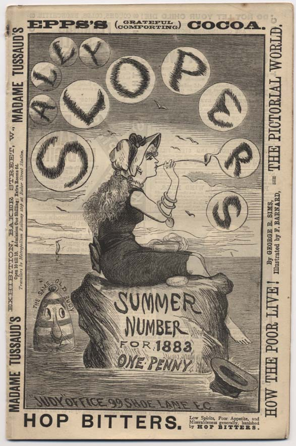 Cover of Ally Sloper's Summer Number, 1883
