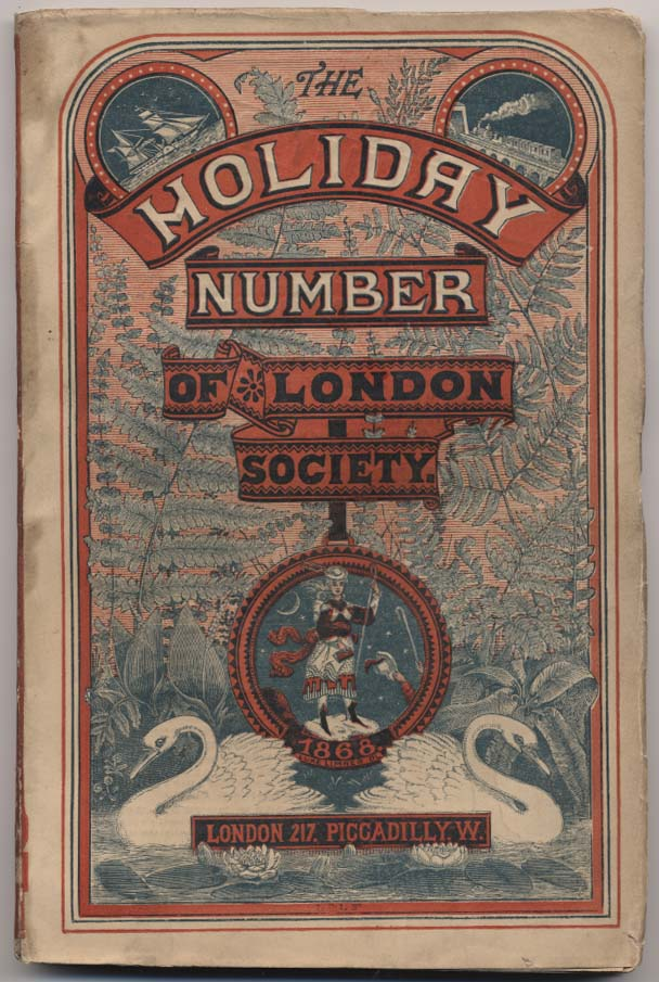 Cover of London Society Holiday Number 1868.