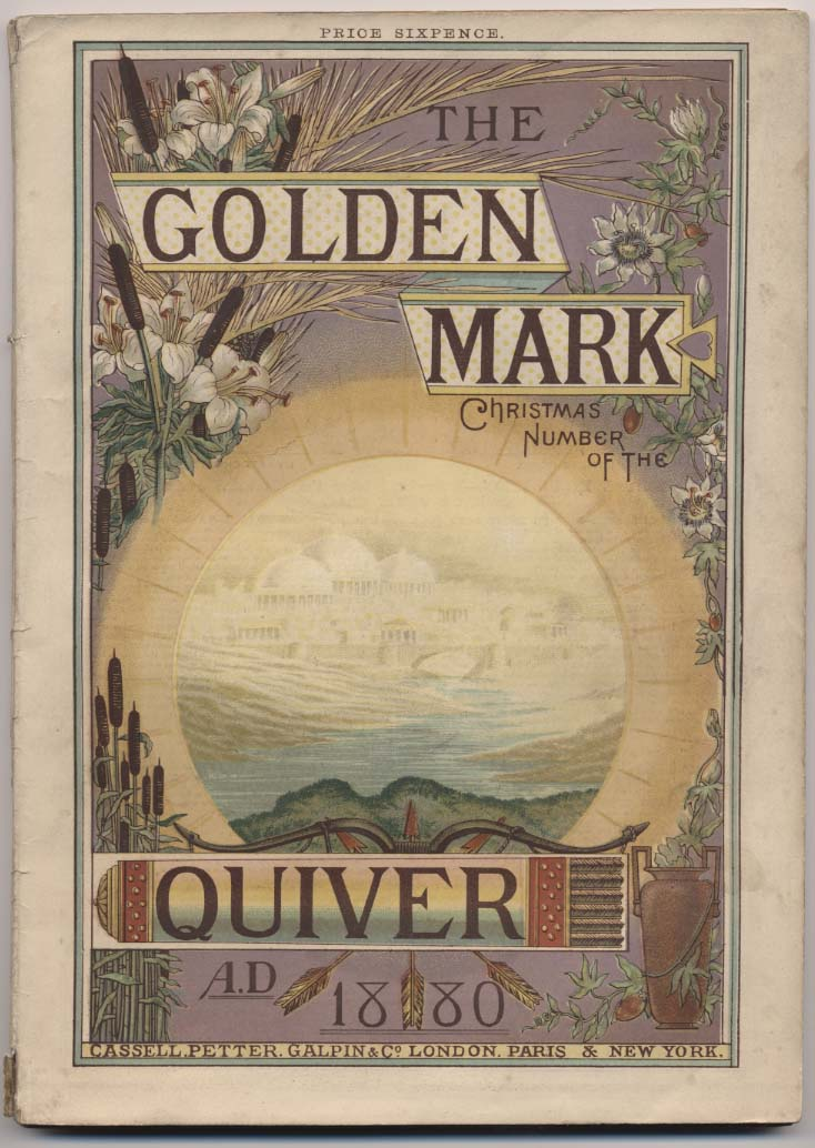 Cover of The Quiver Annual, 1880