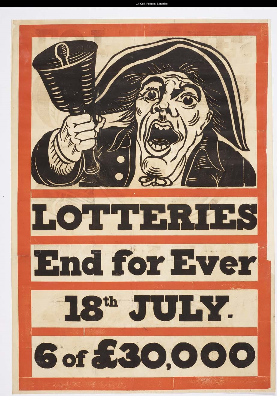 Lotteries End for Ever poster