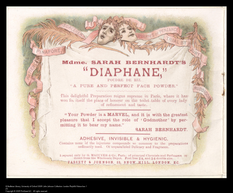 English Opera House programme, [June 18th, 1892]
