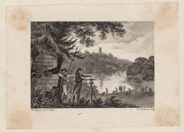 Trade card of Humphry Repton
