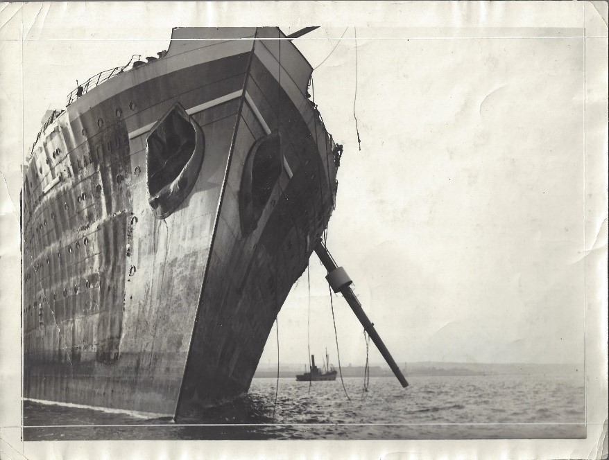 Photograph of S.S. Atlantique, 1933