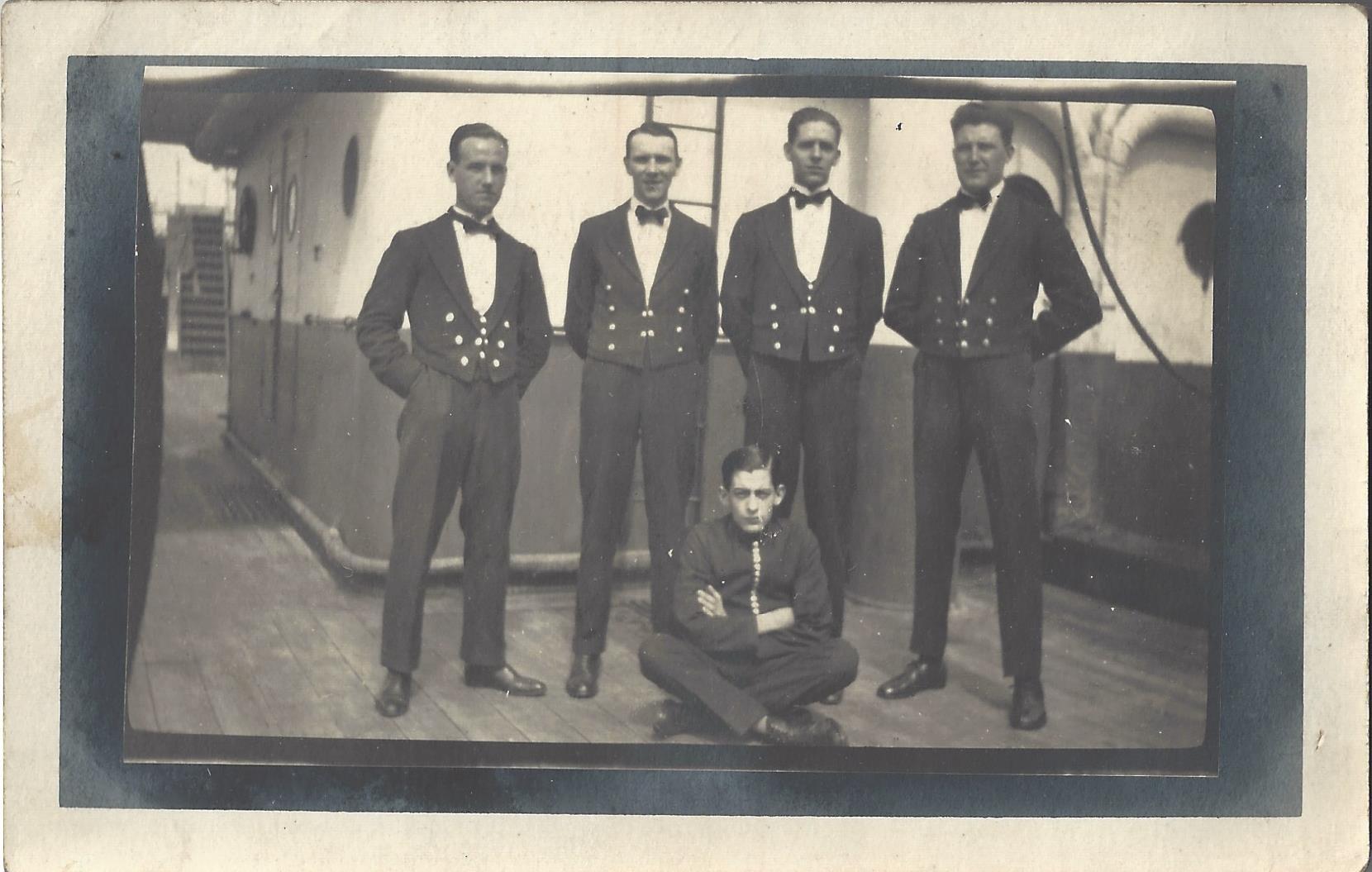 S.S. Euripides: Crew: Cabin Stewards