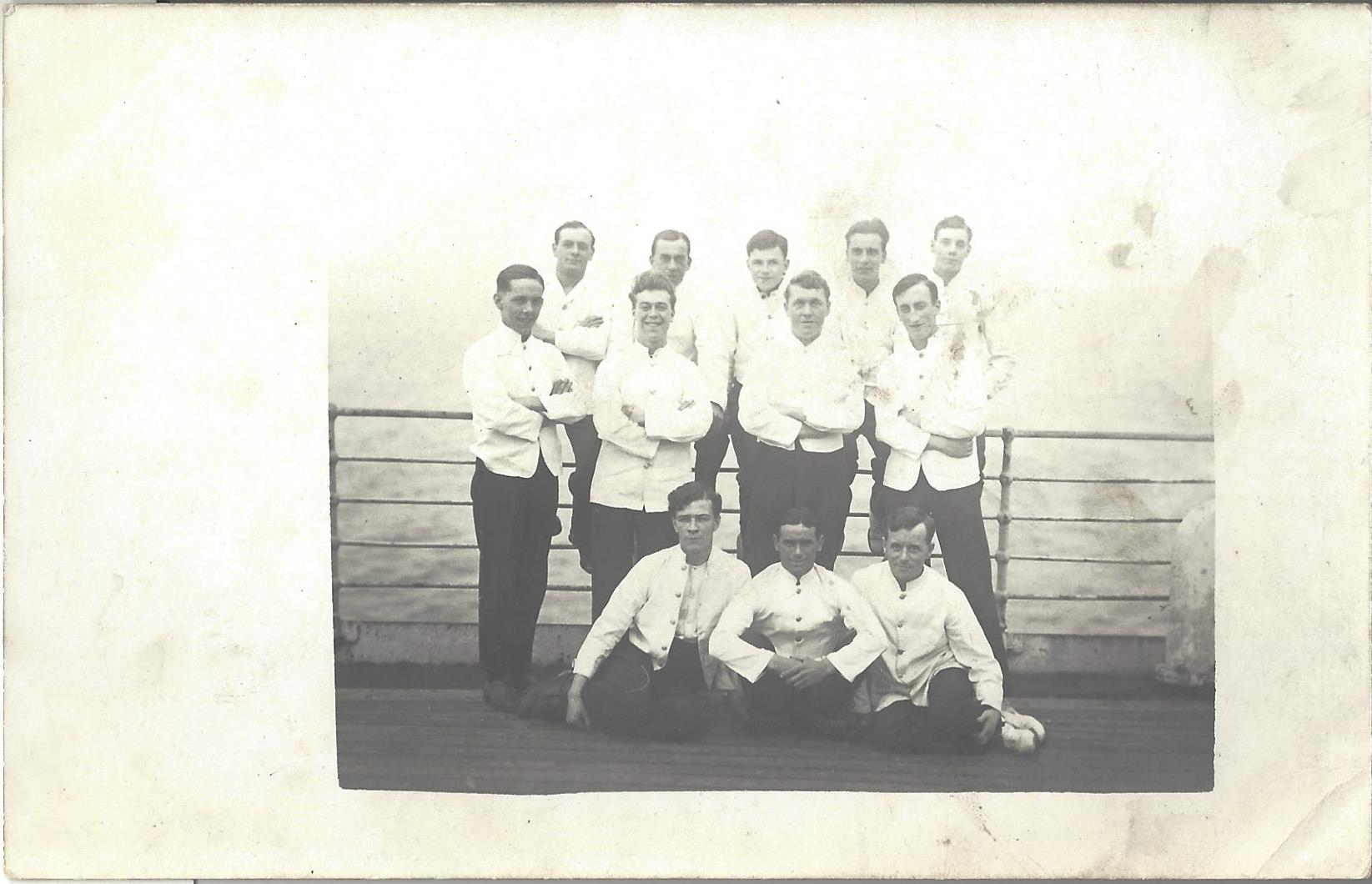 S.S. Euripides: Crew: Dining Room Stewards?