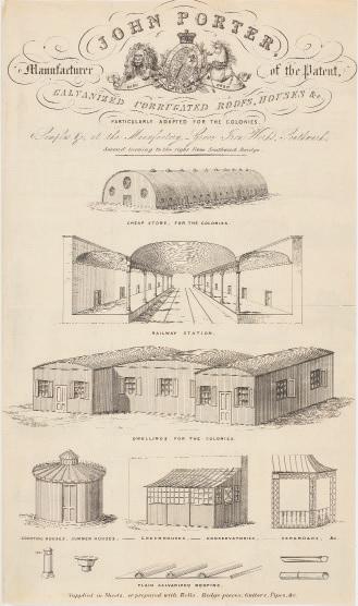 John Porter, ironworks (recto)