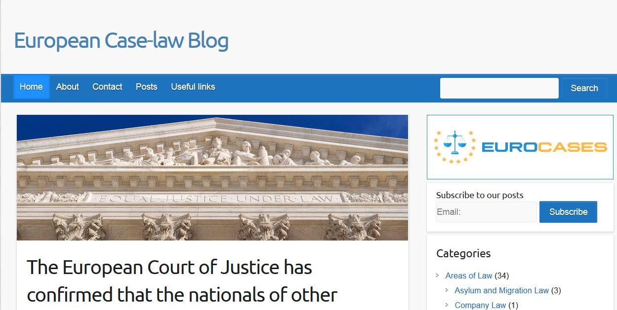 EuroCaseLawBlog