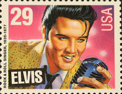 Elvis Stamp. Photo from John Flannery under license from Creative Commons