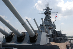 photo of the USS Alabama