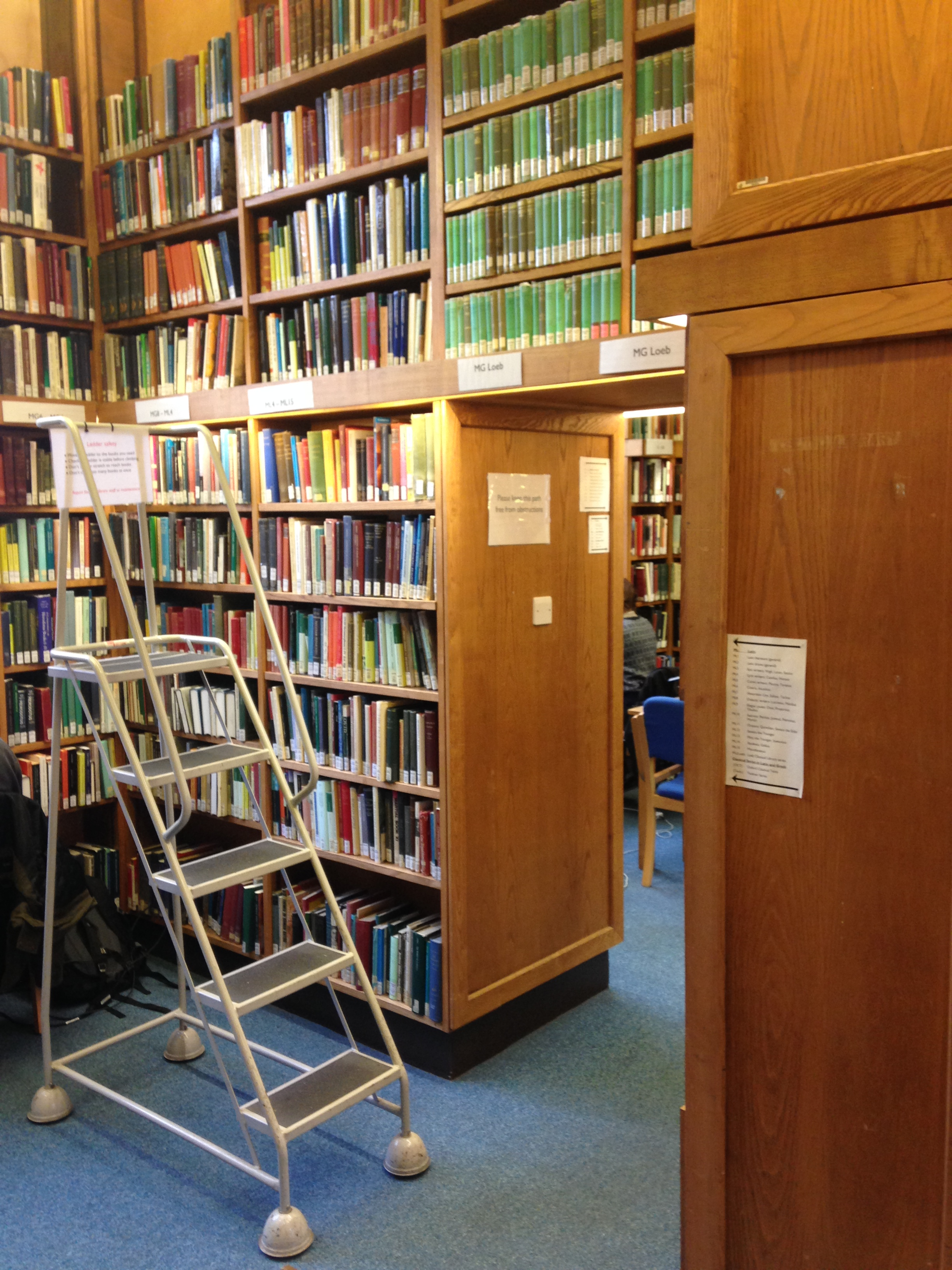 Upper Meyricke Library, copyright Jesus College Oxford.