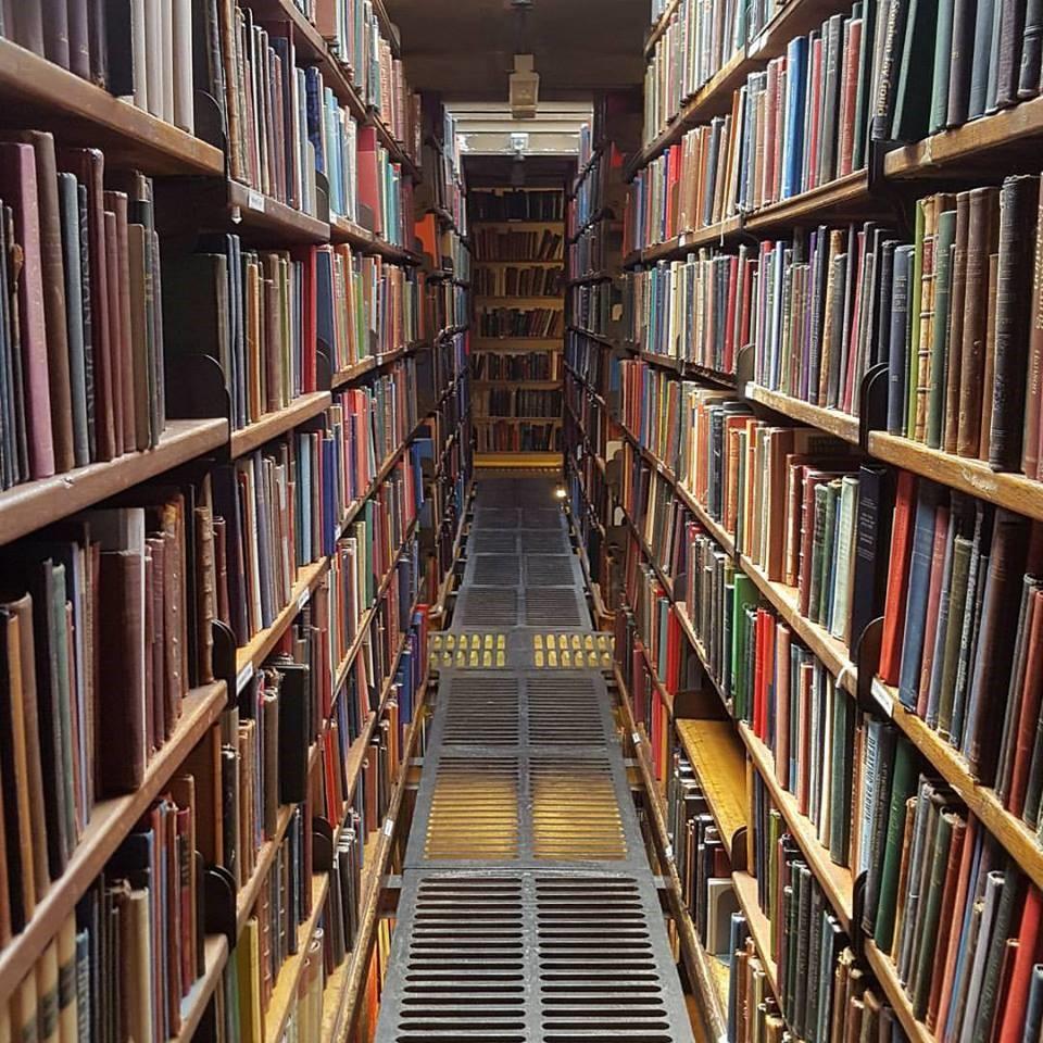 Book Main Stacks Rooms