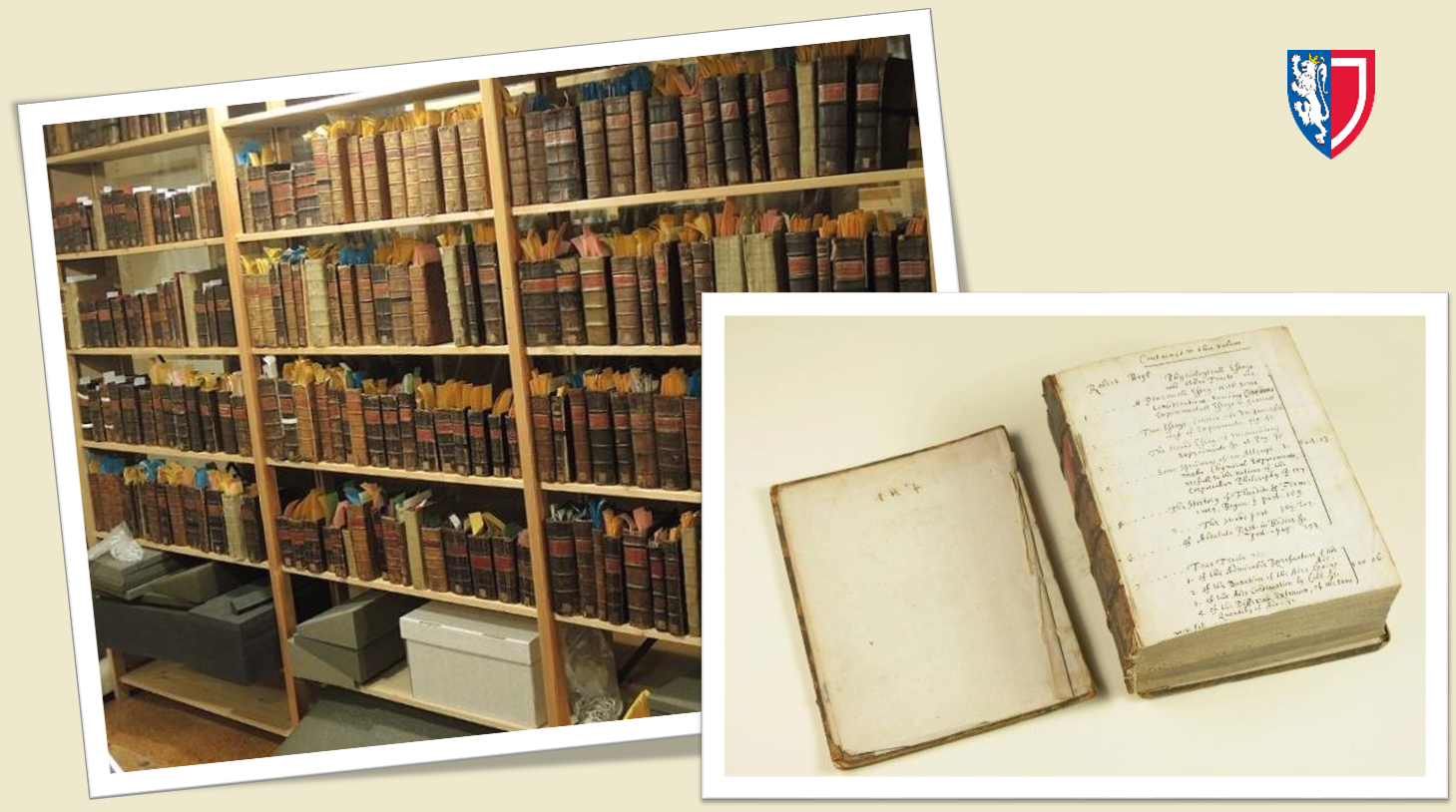 Images of the books constituting the Nicholas Crouch Collection.
